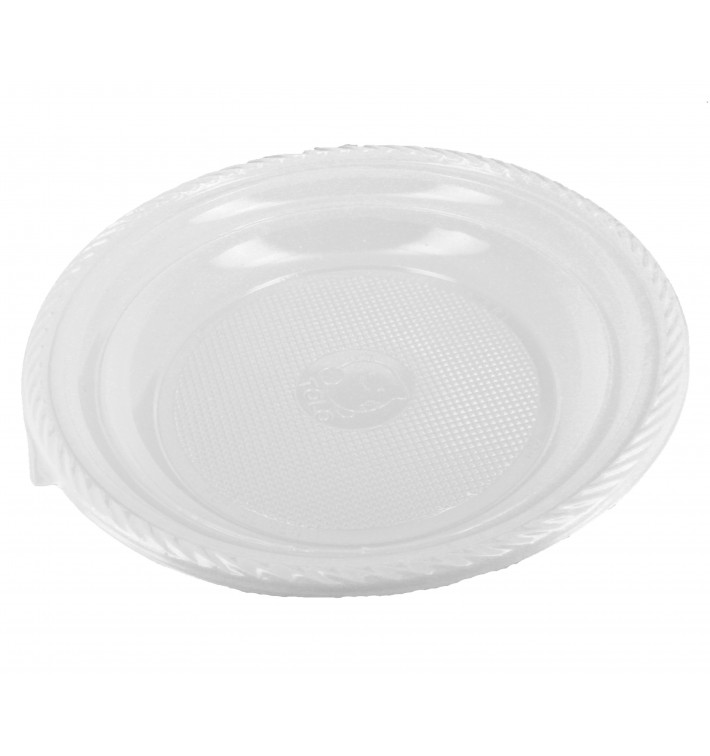 Assiette Plastique Creuse 205mm (100 Unités)