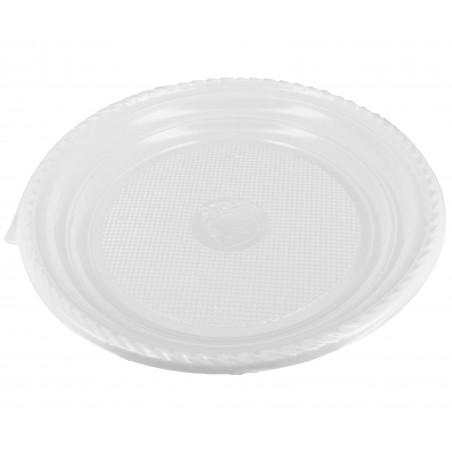 Assiette Plastique Plate 205mm (1.400 Unités)