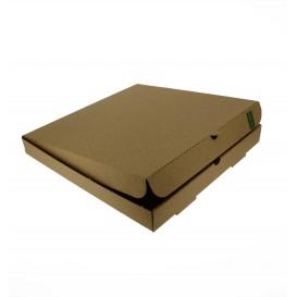 Boîte Carton Kraft 30x30x3,5 cm (100 Utés)