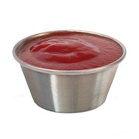Pot à Sauce Inoxydable 90ml (12 Unités)