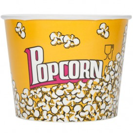 Etuis à Pop-Corn 5400ml 22.5x16x21cm (150 unités)