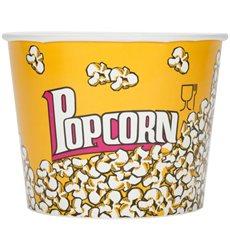 Etuis à Pop-Corn 5400ml 22.5x16x21cm (25 unités)