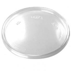 Couvercle Plat Plastique Transparent Ø11cm (100 Utés)