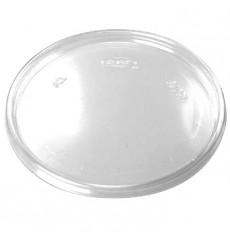 Couvercle Plat Plastique Transparent 110mm (100 Utés)