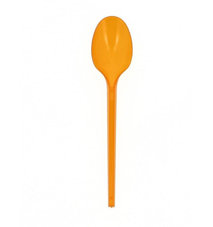 Cuillère Plastique Orange de 165mm (900 Unités)
