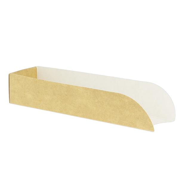 Emballage Hot Dog Kraft 17x5x3,5cm (100 Unités)