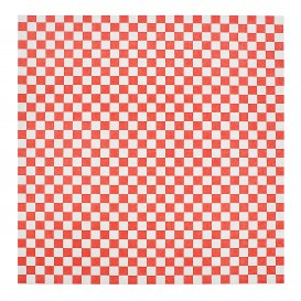 Papier Ingraissable Rouge 31x38cm (4000 Utés)