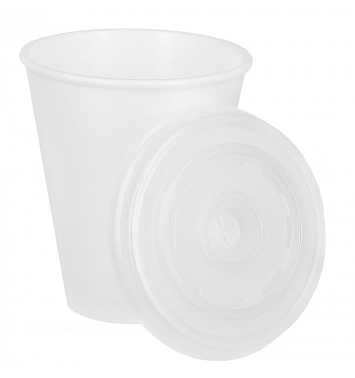 Gobelet Foam 7 Oz/200ml Blanc+ Couvercle (1.000 Utés)