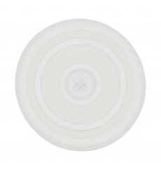Tapa con cruz para Vaso Carton Infantil  (Paquete 100 unidades)
