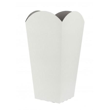 Etuis à Pop-Corn Petit  Blanc 45 gr 6,5x8,5x15cm (700 Utés)