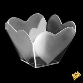 "Verrine Dégustation ""Cupidon"" Transp. 68 ml (25 Utés)"