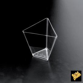 "Bol Dégustation ""Triangle"" Transp. 70 ml (500 Utés)"