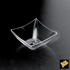 "Verrine Dégustation ""Square"" Transp. 90 ml (25 Utés)"