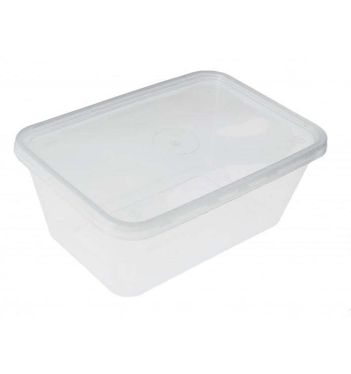 Recipient Plastique Transparent 1000ml (500 Utés)