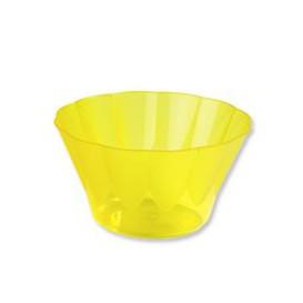 Coupe ROYAL Jaune en Plastique 500ml (25 Unités)