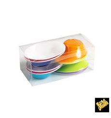 """Verrine Dégustation Plastique """"Sodo"""" blanc et multicolore 50 ml (160 Utés)"""