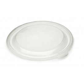 Couvercle en plastique Transp. Ø23cm (25 Unités)