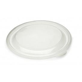Couvercle en plastique Transp. Ø23cm (75 Unités)