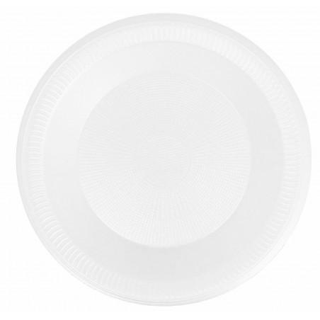 Assiette creuse en Foam 225mm (100 Utés)