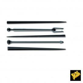Pique en Plastique Snack Stick Noir 90mm (1650 Utés)