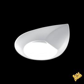 """Assiette Dégustation """"Smart"""" Blanc 8,6x7,1 cm (50 Utés)"""