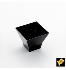 """Verrine Dégustation """"Pagode"""" Noir 120ml (25 Utés)"""