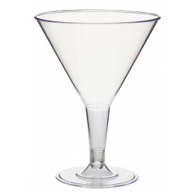 Coupe Cocktail Transparent PS 215 ml 2P (3 Unités)