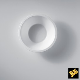 Bol en Plastique Blanc Ø155mm 450ml (300 Utés)