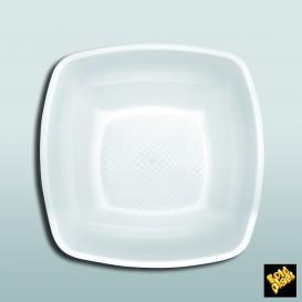 Assiette Plastique Fond Blanc 180mm (150 Utés)