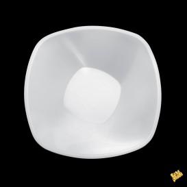 Bol en Plastique Blanc Square PP Ø210mm 1250ml (3 Utés)