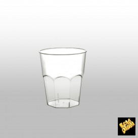 Verre Plastique à Cocktail Transp. PS Ø73mm 200ml (500 Utés)