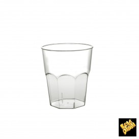 Verre Plastique à Cocktail Transp. PS  Ø73mm 220ml (500 Utés)