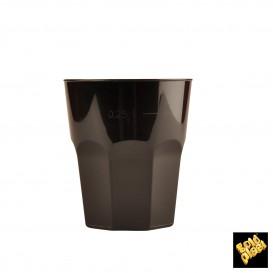 Verre Plastique à Cocktail Noir PP Ø84mm 270ml (200 Utés)