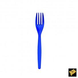Fourchette Plastique Easy PS Bleu Perle 180mm (20 Unités)