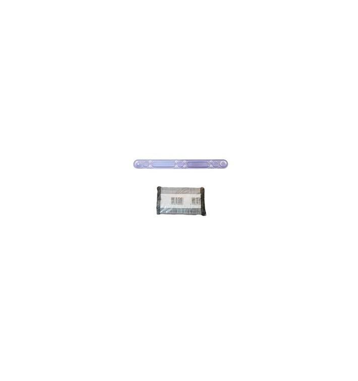 Touillette à Café 90mm Transparente (2500 Unités)