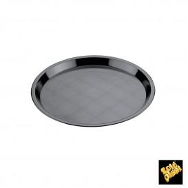 Plat Tray Noir Ø32cm (25 Utés)