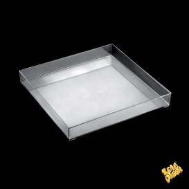 Plat Tray Transparent 30x30cm (9 Utés)