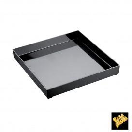 Plat Tray Noir 30x30cm (9 Utés)