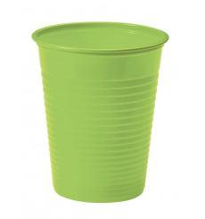 Gobelet Plastique Vert PS 200ml (1500 Unités)