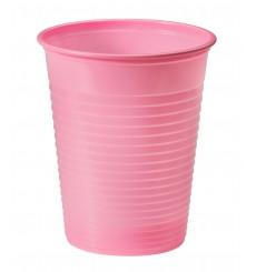 Gobelet Plastique Rose PS 200ml (50 Unités)