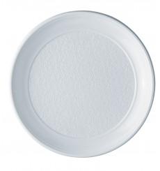 Assiette Plastique Plate Blanche PS 250 mm (800  Unités)