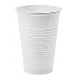 Gobelet Plastique PP Blanc 230ml Ø7,0cm (3000 Unités)