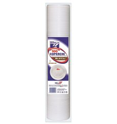 Gobelet Plastique Blanc PS 80ml (50 Unités)