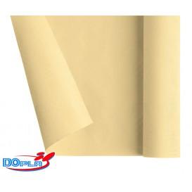 Nappe en Papier en Rouleau Crème 1,2x7m (25 Utés)