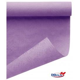 Nappe en Papier en Rouleau Lilas 1,2x7m (1 Uté)