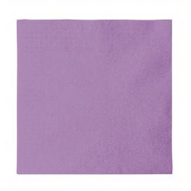 Serviette Papier 2 épaisseurs Lilas 33x33cm (50 Unités)