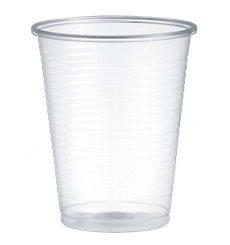 Gobelet Plastique PP Transparent 200ml Ø7,0cm (100 Unités)