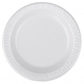 """Assiette Thermique FOAM """"Quiet Classic"""" Stratifié Blanc Ø150mm (1000 Unités)"""