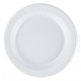 """Assiette Thermique FOAM """"Quiet Classic"""" Stratifié Blanc Ø230mm (500 Unités)"""
