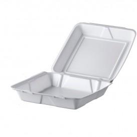 Boîte en FOAM MenuBOX Blanc 240x235mm (200 Unités)